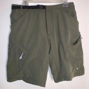 Mens REI Cycling Cargo Shorts
